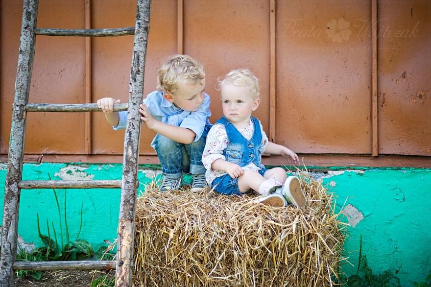 sesja dziecieca w plenerze Czchow