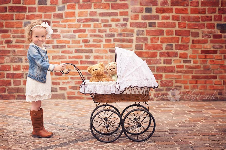 sesja dziecieca w plenerze Krakow