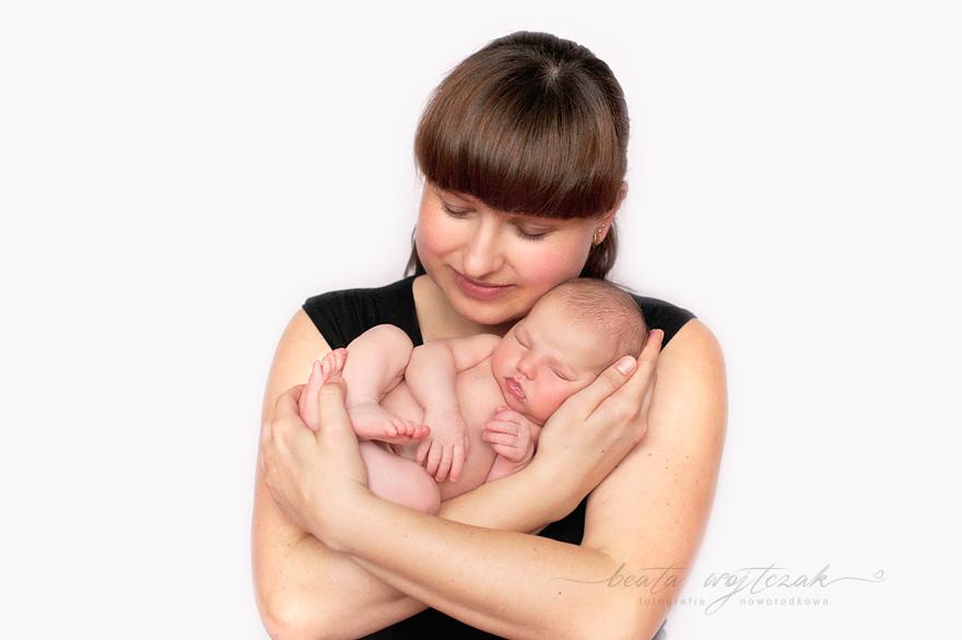 fotografia rodzinna noworodkowa Krakow Myslenice