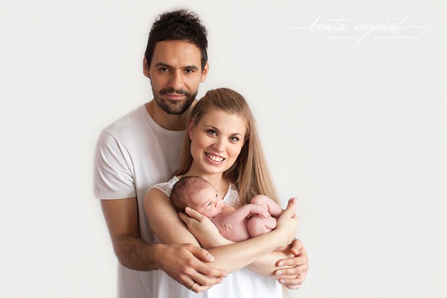 sesja rodzinna Krakow, sesja z noworodkiem