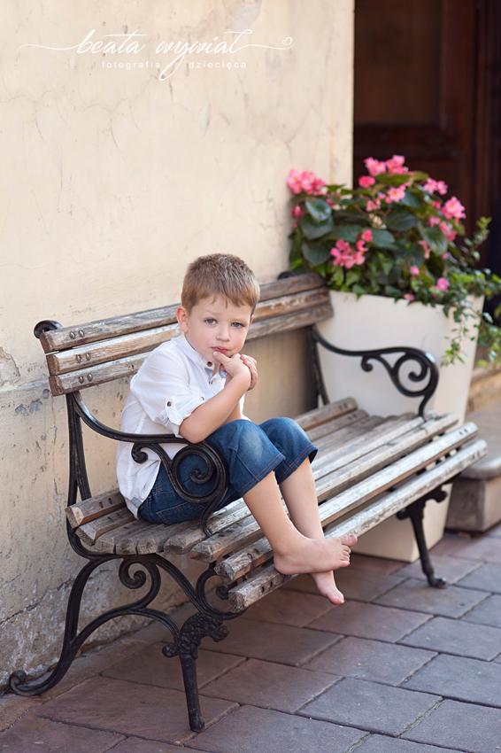 letnia sesja dziecieca w Krakowie