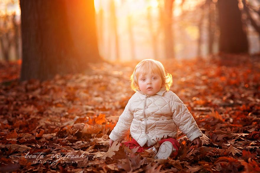 rodzinna sesja jesienna Krakow, fotografia dziecieca Krakow