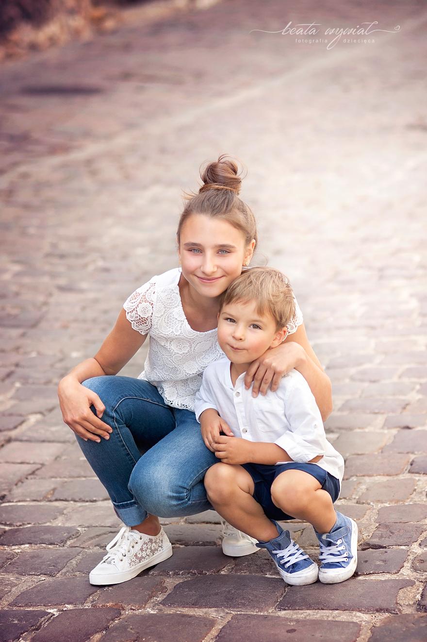 dziecieca sesja plenerowa Krakow, zdjecia dzieci w plenerze