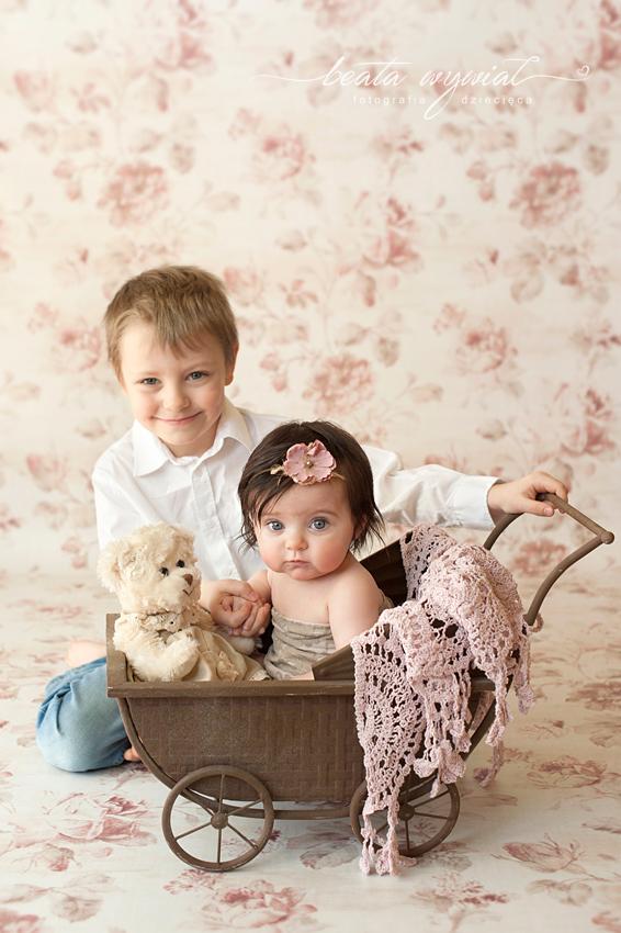 sesja niemowleca Krakow, sesja w prezencie, fotografia dziecieca Krakow