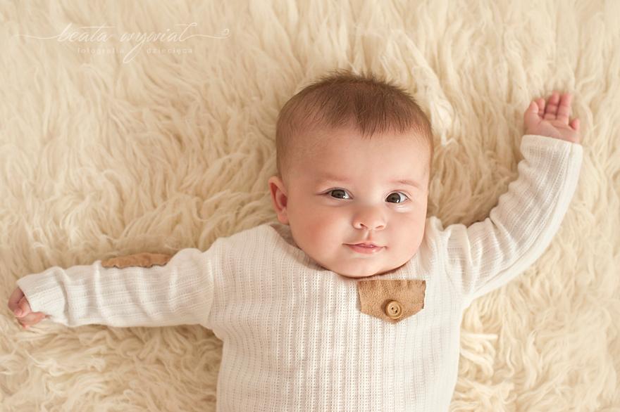 sesja niemowleca w prezencie, fotografia rodzinna Krakow
