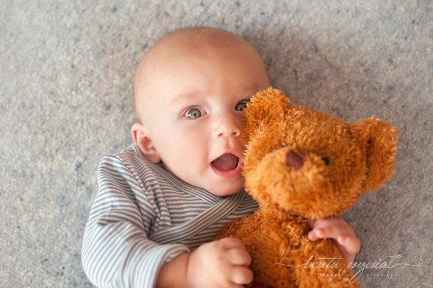 sesja rodzinna w prezencie, sesja niemowleca Krakow